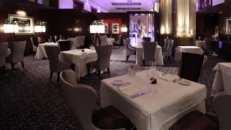 Prague dining boscolo fine salon