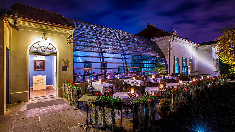 Prague Dining A Villa Richter Restaurants